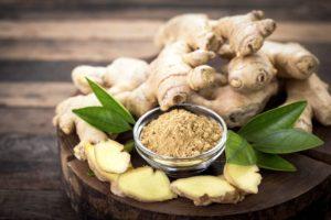 healing properties of ginger root